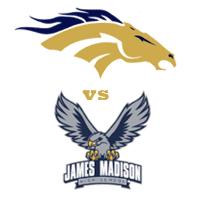 Vista Murrieta • Broncos vs James Madison • Warhawks • LIVE ONLINE Logo