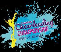 European cheerleading championship 2017. Logo