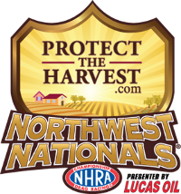 NHRA Northwest Nationals, Pacific Raceways, Seattle, WA - Sunday Logo