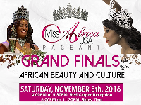 2016 Miss Africa USA Pageant Logo
