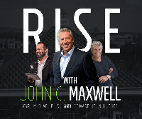 Rise | with John C. Maxwell – Restream Logo