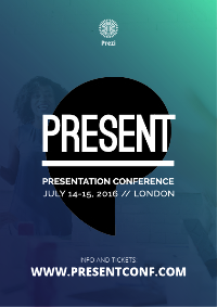 PRESENT Conference London,  July 14-15 Logo