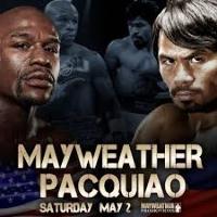 Manny Pacquiao v Floyd Mayweather Logo