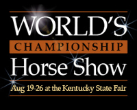2017 World Championship Horse Show Day 2 - SUNDAY, AUGUST 20 Logo