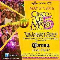 5 de Mayo Festival - Miami - Live with Jenny Logo