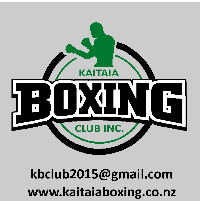 Kaitaia Boxing Charity Event Logo