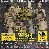 Midwest Championship Fighting 12: Title Night Logo
