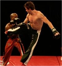 Kickboxing live Logo