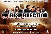 PK RESURRECTION Logo