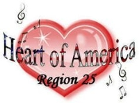 Sweet Adelines 2017 Region 25 Competition Logo