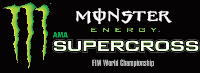 Round #1: Anaheim, CA 2017 Monster Energy Supercross Live Race Logo