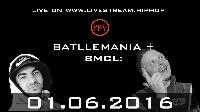 BATTLEMANIA  + BMCL: GUGO vs FINCH Logo