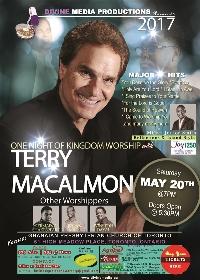 Terry Macalmon Worship Concert Logo