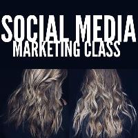 Social Media / Photography / Online Marketing Logo