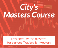 A Day At City's Desk - Live & Interactive. Learn To Trade and Invest Logo