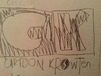 Cartoon Krowten Logo