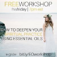 Deepen Your Spiritual Practice Using Essential Oils Logo