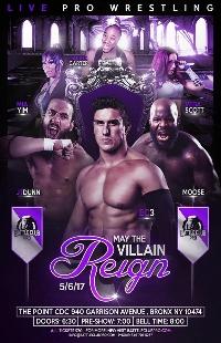 Battle Club Pro-May the Villain Reign Logo