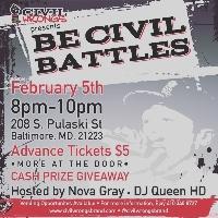 Be Civil Battles Logo