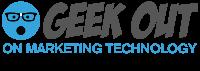 GEEKOUT on Marketing Technology Logo