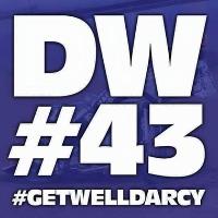 Darcy Ward Charity Event #DW43 Logo