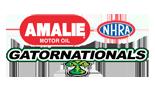 Amalie Motor Oil NHRA Gatornationals, Gainesville Raceway, FL Logo