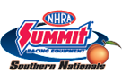 Summit Racing NHRA Southern Nationals, Atlanta, GA - Friday Logo