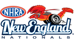 NHRA New England Nationals, New England Dragway, Epping, NH - Monday Logo