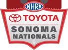 NHRA Toyota Sonoma Nationals, Sonoma Raceway, Sonoma, CA - Sunday Logo