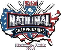 2016 AYF National Championships Field 1 Sunday December 4th 2016 Logo