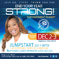 End Your Year Strong Empowerment Summit Logo