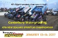 New Zealand Sprint Cars Night 2 Finals Night Logo