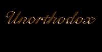 Touch Glove Promotions - Unorthodox Logo