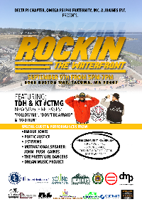 Rockin' the Waterfront Logo
