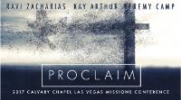 Proclaim Missions Conference - Ravi Zacharias, Kay Arthur, Jeremy Camp Logo