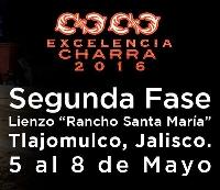 Sábado - Segunda Fase Circuito Excelencia Charra FORD 2016 - 8 USD Logo
