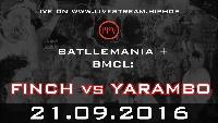 21 Sept 2016 - Finch vs Yarambo. Leipzig Logo