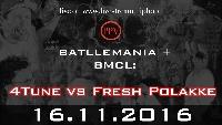 BMCL 16Nov16: Köln 4TUNE vs FRESHPOLAKKE Logo