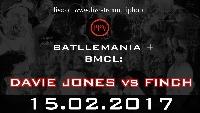 BMCL 15Feb17: Hamburg DAVIE JONES vs FINCH Logo