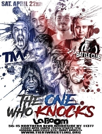 Tier 1 Wrestling & Battle Club Pro- The One Who Knocks Logo